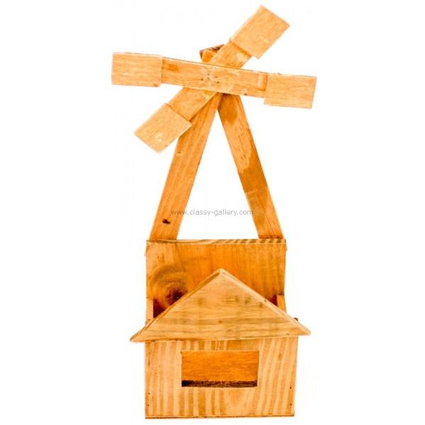 تحفة كوخ خشب