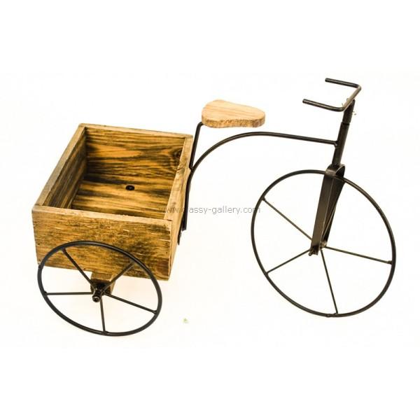 دراجة خشبة