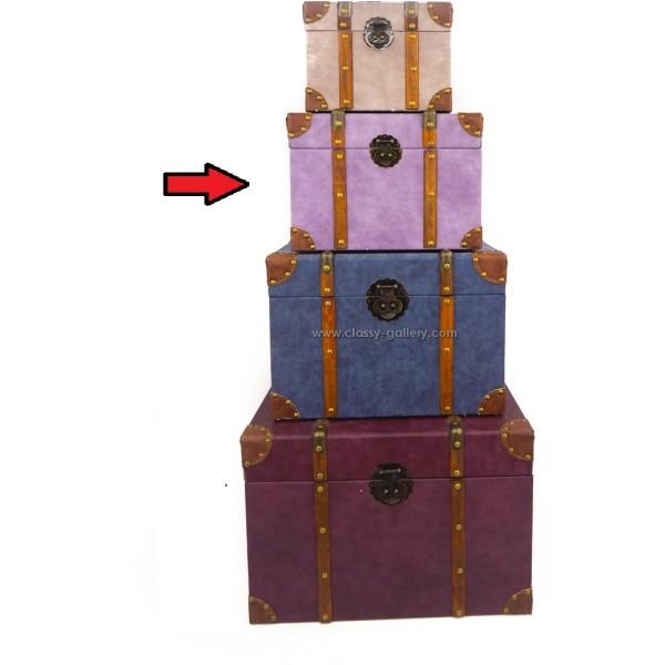صندوق تخزين وسط /بنفسجي/ جزء من طقم