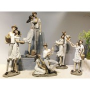 مجموعة التماثيل الريفية الجديدة