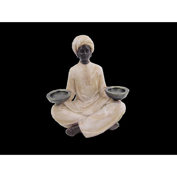 تمثال العمدة تقديم طبقين