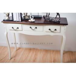 طاولة مدخل كلاسيكية 3 ادرج