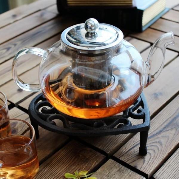 سخان شاي معدني