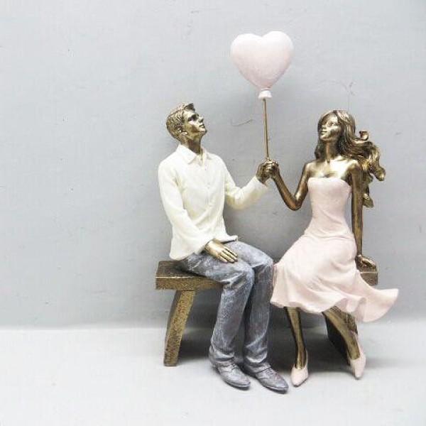 تحفة الزوج وزوجته. المقاس :16.5*8.5*24