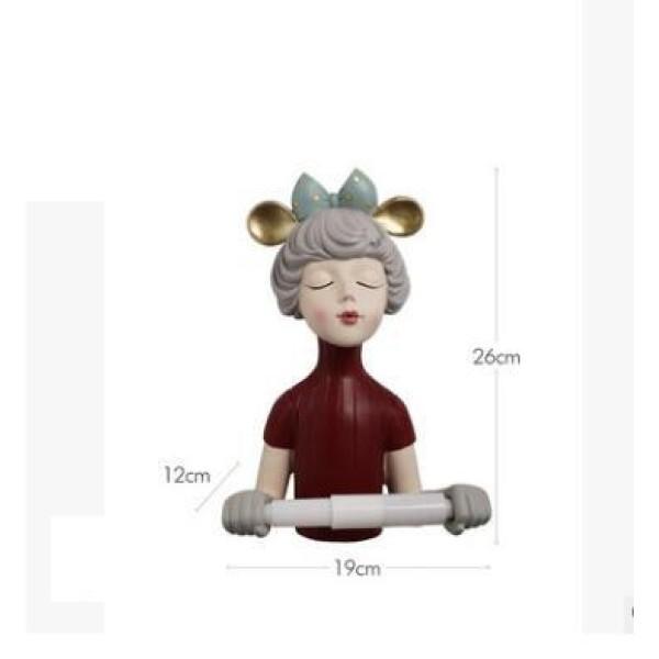 تمثال حاملة المناديل