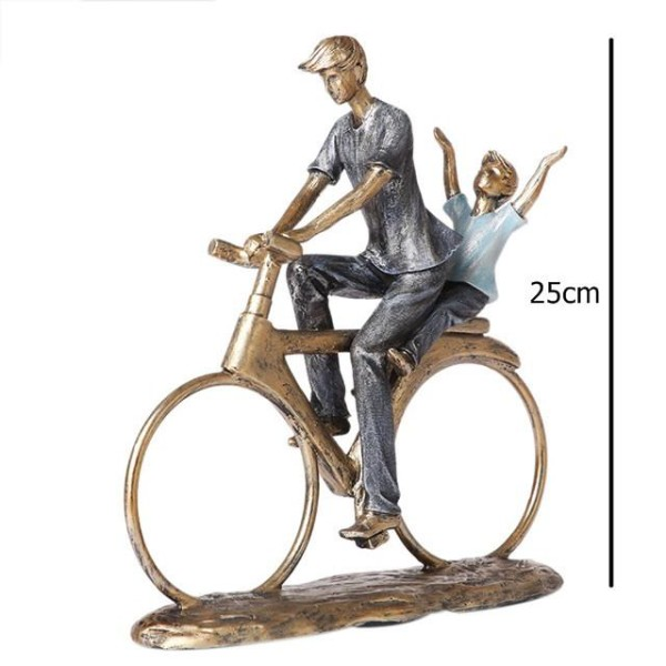 تحفة راكب الدراجة. المقاس :24*7.5*25