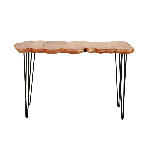 مدخل خشب طبيعي Table Top:around 80x45             H:70cm